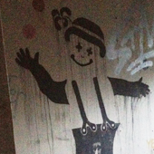 Creepy Bunkers Clown