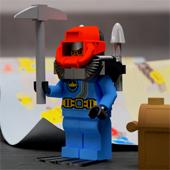 Lego Submarine Render
