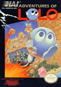 Lolo NES Box Art