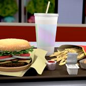 Fast Food Render