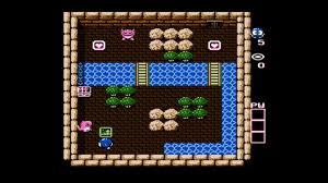 Lolo NES Map - Floor 1, Room 2