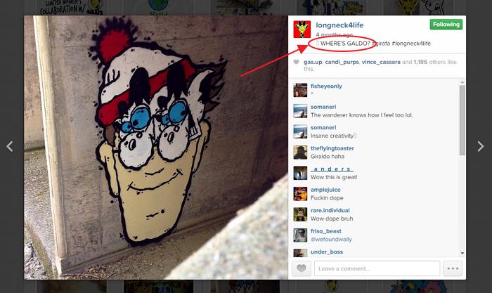 Instagram - Where's Galdo