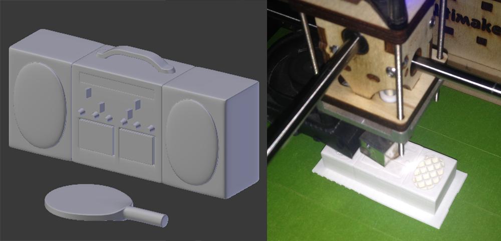 CCTV Stereo Printing