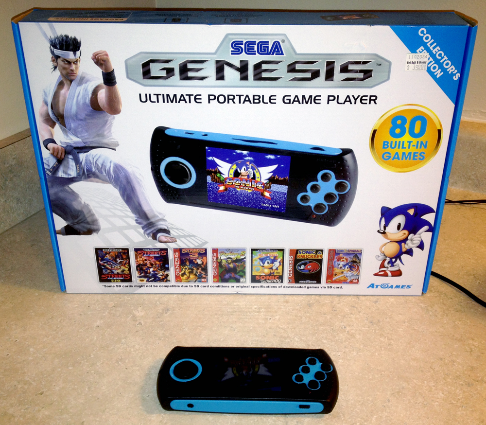 Portable Sega Genesis Player