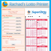 Lotto Printer