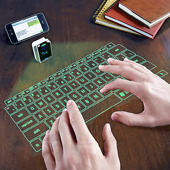 Brookstone Virtual Keyboard Green