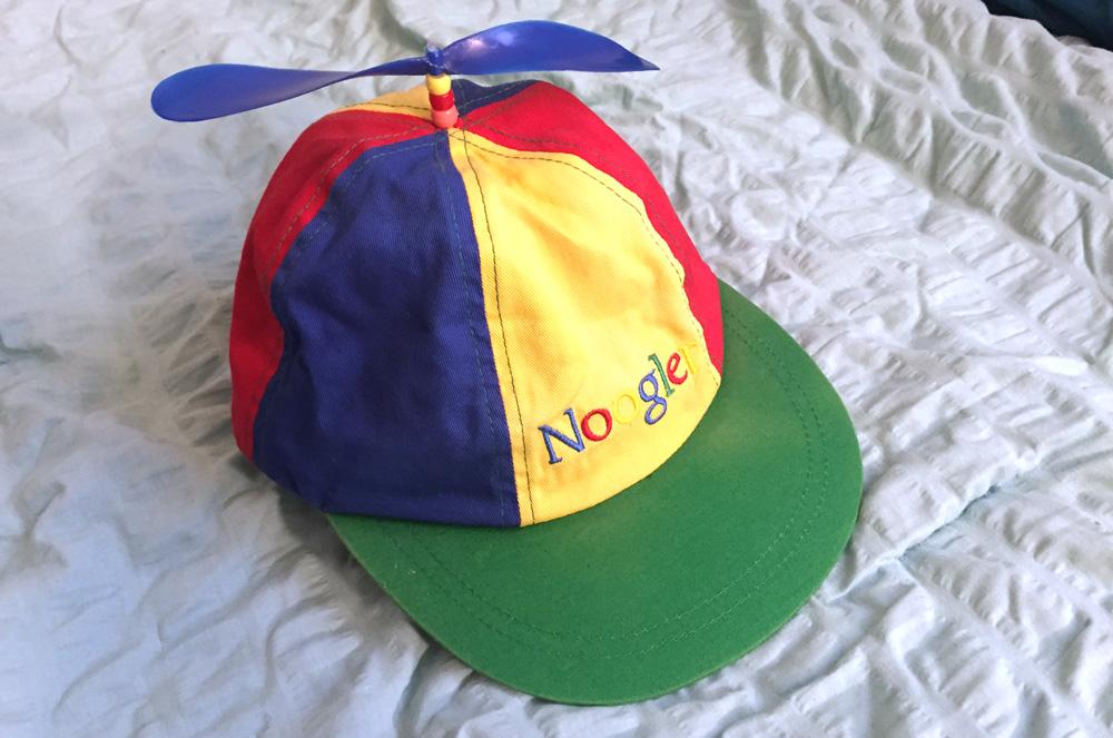Google Noogler hat