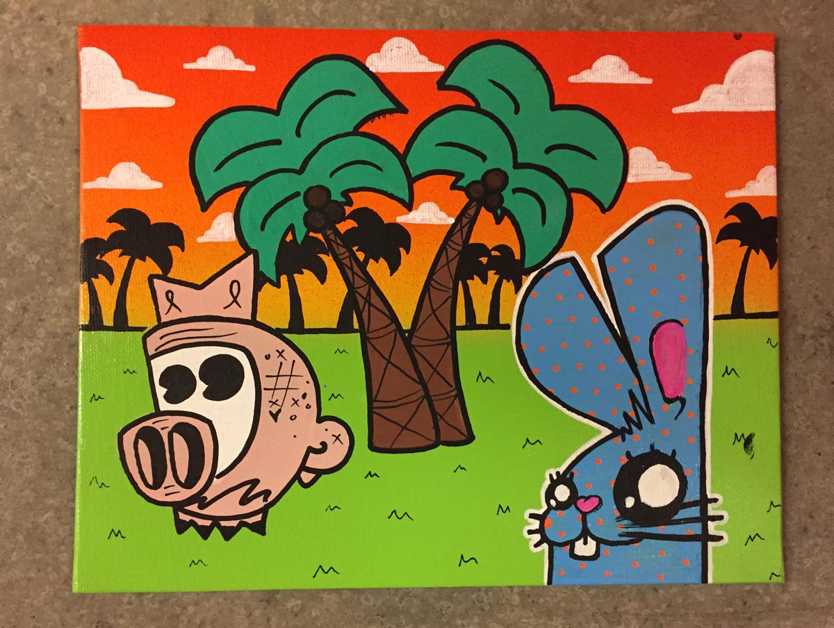 Pigpen and Mago