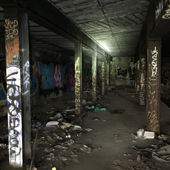 Abandoned Subway Station