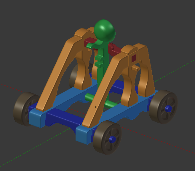 01 - Back Angle in Blender