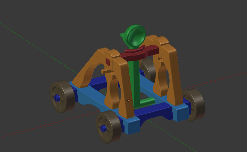 05 - Front Angle in Blender