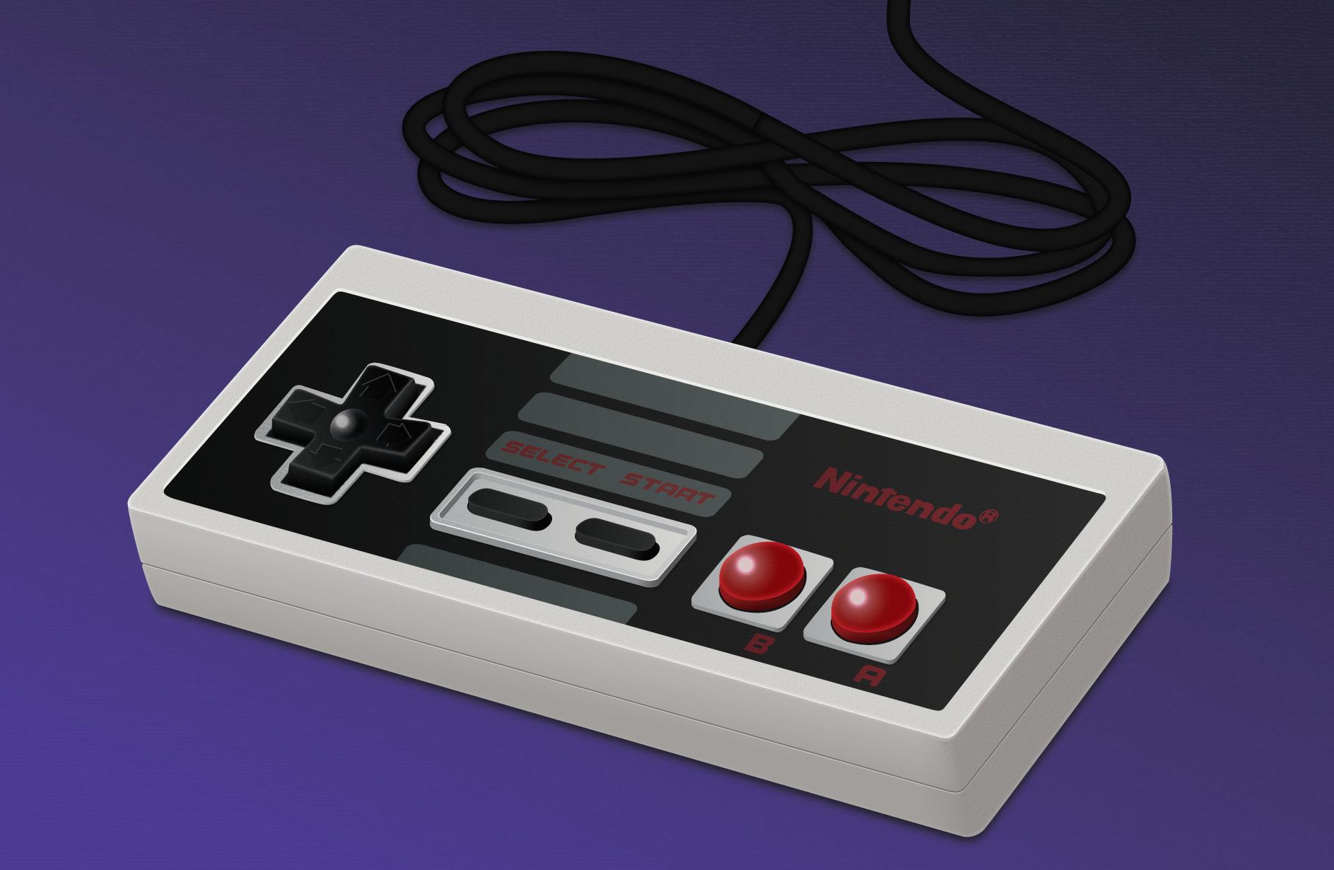 NES Vector Render