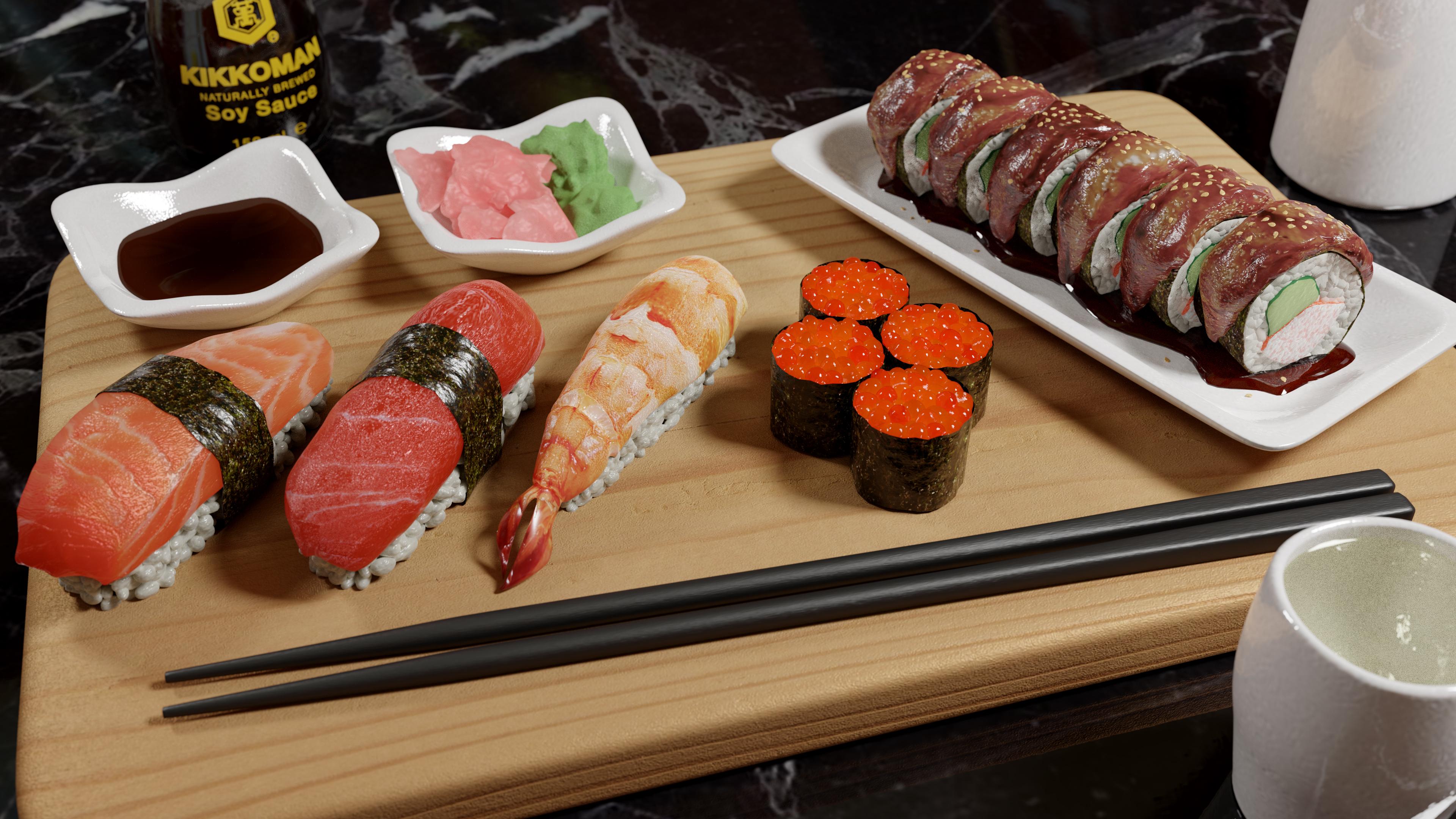 Sushi Render